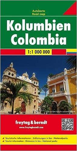 Colombia F B R 1 1m Wegenkaart 1 1 000 000 Amazon Co Uk