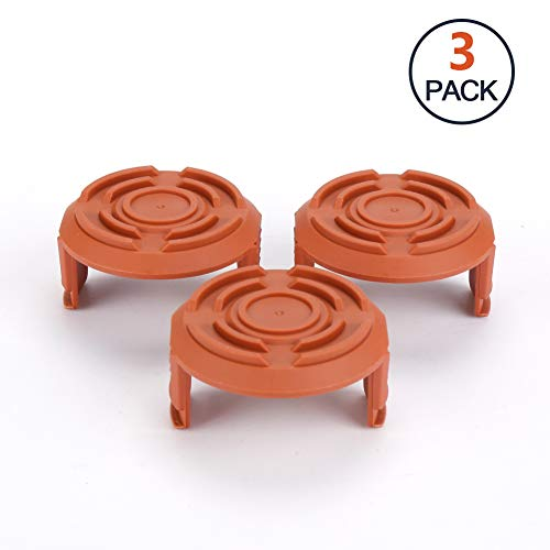 Freshday 3 Pack Replacement Spool Cap Cover, Trimmer Replacement Spool Cap Covers for WorxWG150, WG151, WG151.5, WG152, WG153, WG154, WG155, WG155.5, WG156, WG157, WG160, WG160.1, WG160.2, WG163, WG1 by Freshday