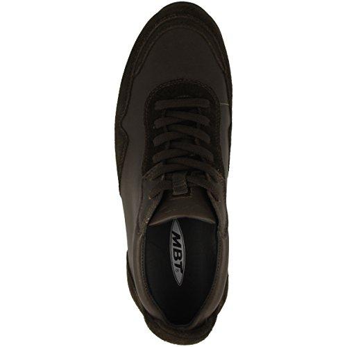 MBT Azizi Coffee Bean Sneaker Marrone Lite Up Uomo Lace Walk q6CgqwZP