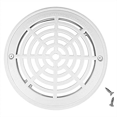 Hayward Swimming Pool Anti-Vortex Main Drain Suction Cover Plate White WGX1048E