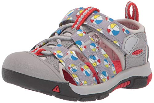 KEEN Unisex Newport H2 Water Shoe, paloma Beach Ball, 13 M US Little Kid