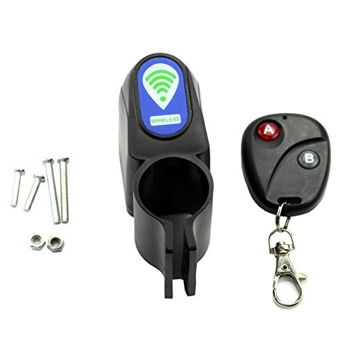 YSTD Lock Bicycle Cycling Security Wireless Remote Control Vibration Alarm Anti-theft