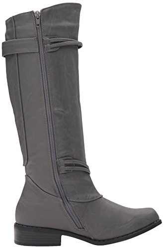 Olive Co Women's Boot Brinley Grey Riding AzExSxqfw