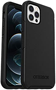 OtterBox Symmetry Series Case for iPhone 12 & iPhone 12 Pro - Black (77-65