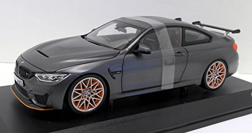 Paragon 1/18 Scale Diecast - 80432411555 BMW M4 GTS Metallic Grey