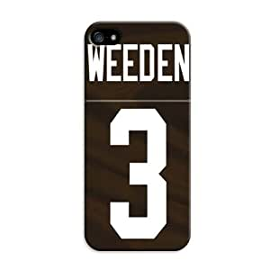 Sole Trader New Iphone 5/5S Protective Case Cleveland Browns Nfl Football Skin Cover