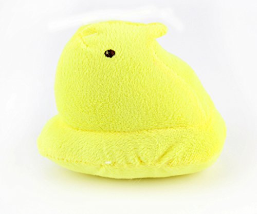 Peeps Plush Chick Dog Toy (Yellow) (Chick Dog Toy)