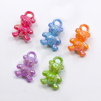 Sugar Gliders/Small bird charms/Toy parts/Bear plastic pendants (250pcs) (Small Bird Charms)