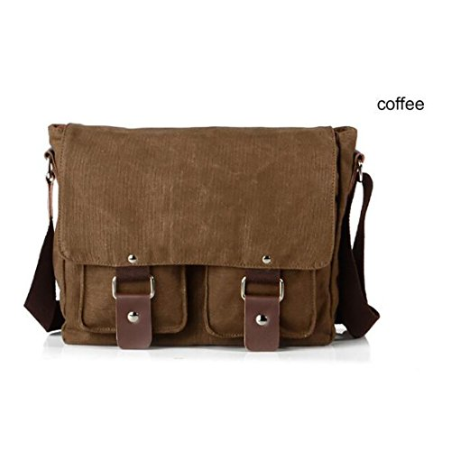 Koola's Bag - Bolso al hombro para hombre, marrón (Marrón) - 1BB000003BXM000000 marrón