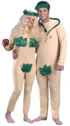 Fun World - Adult Adam and Eve Costume