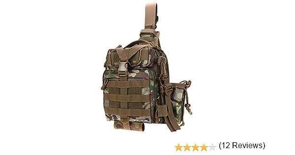 RUNATURE Sling Bags Mini Mochila de Rifle para Hombres Bolso de trastos de un Solo Hombro para Senderismo Senderismo Pesca Mochila t/áctica