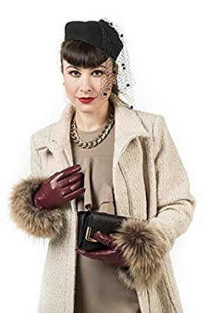 Amazon.com: Marino Womens Warm Fashion Leather Gloves