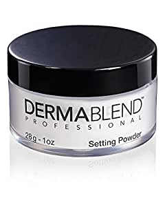 Dermablend Loose Translucent Setting Powder for Up To 16 Hours Of Coverage, Original, 1 Oz.