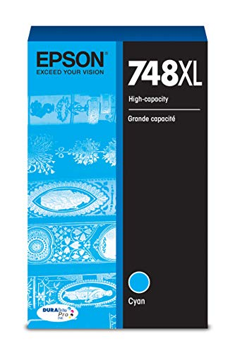 (Epson DURABrite Pro T748XL220 Ink Cartridge - High Capacity Cyan)