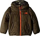 The North Face Toddler Boys' Reversible Perrito Jacket, New Taupe Green, 2T