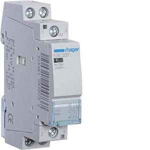 Hager ESC227 alimentación del relé - Relé de potencia