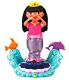 : Fisher-Price Dora Sparkle & Twirl Mermaid Doll