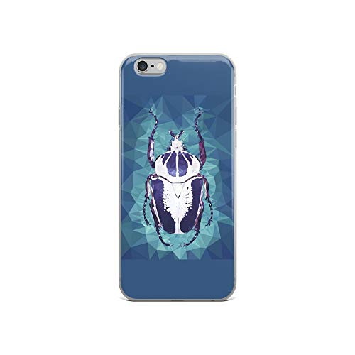 - iPhone 6/6s Case Anti-Scratch Creature Animal Transparent Cases Cover Goliath Beetle Animals Fauna Crystal Clear