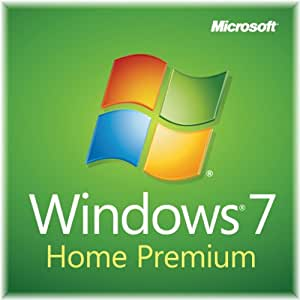 Windows 7 Home Premium SP1 64bit, System Builder OEM DVD 1 Pack (New Packaging)