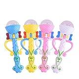 Leoy88 Hot Funny Lighting Microphone Model Gift Music Karaoke 2018 Cute Mini Toy