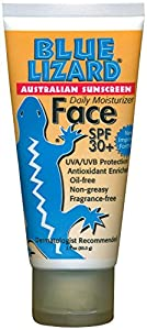 Blue Lizard Australian SPF 30+ Face Sunscreen, 3 Ounce