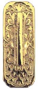 Victorian Narrow Twist Mechanical Doorbell Operator (Victorian Twist Doorbell)