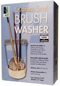 Stainless Steel Brush Washer by Art Alternatives
