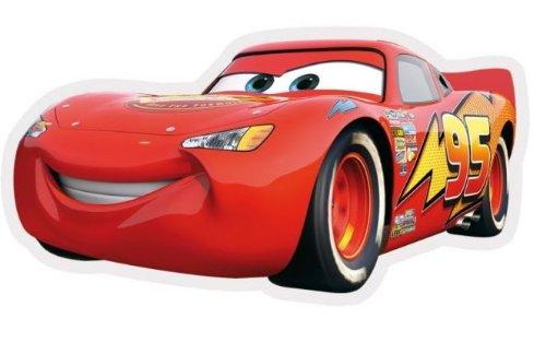 Disney Tapis pour enfant, SHAPED CARS en Polypropylne, par Cars