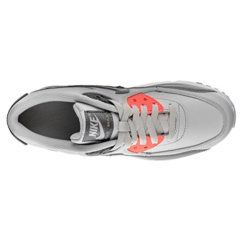Nike Youth Air Max 90 Leather Trainers Pure Platinum/Cool Grey-white-grey discount factory outlet discount pay with paypal cheap online store discount Cheapest 2014 newest cheap online 3U7W7f6