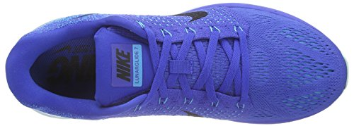 Nike Heren Lunarglide 7 Loopschoen Spel Royal / Black-blue Lagoon