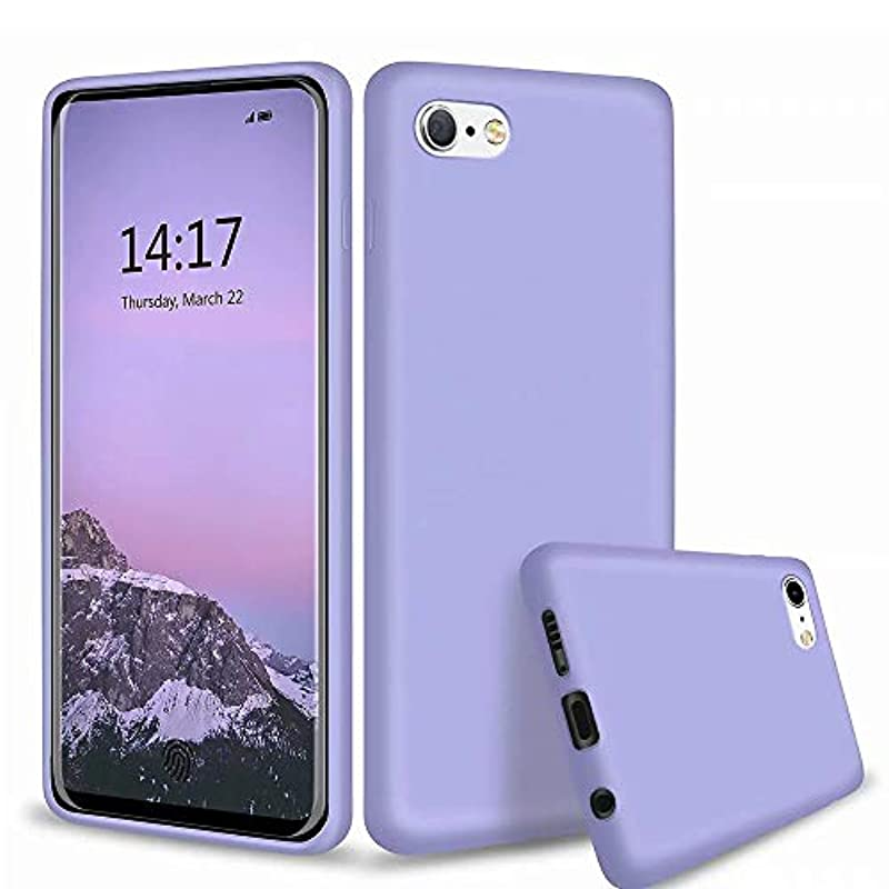 MTR iPhone6S Plus 케이스/iPhone6 Plus 케이스 tpu 실리콘 전용 커버 초박형 지문 방지 세밀 화이버(fiber) 안감내 충격 부드러운 껍질 보호 커버 (청)