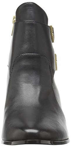 Calvin Black Leather Klein Boot Women's Florine x6wfgAqF