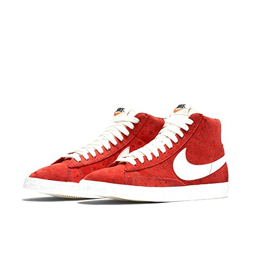 buy popular 5b8a2 67b9d ... greece nike blazer mid cut kvinners mote joggesko lyse rød hvit 00a2f  e3b72
