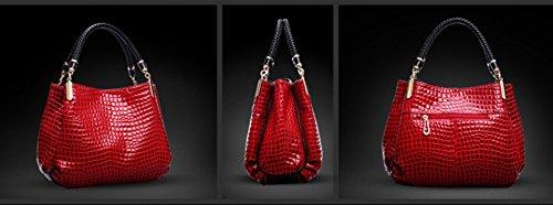 Splendeur d'Art® , Borsa Messenger  rosso rosso XL