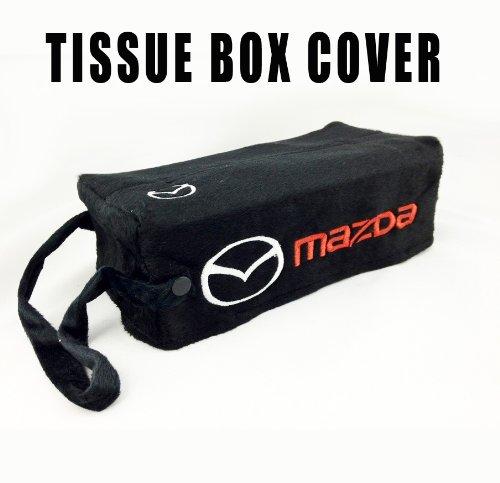 Mazda Embroidered Logo Tissue Box Cover