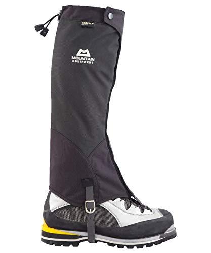 Mountain Equipment Unisex Alpine Pro Shell Gore-Tex Waterproof Leg Gaiters, Black, Medium
