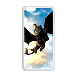 HDSAO Black bat and man Cell Phone Case for Iphone 6 Plus