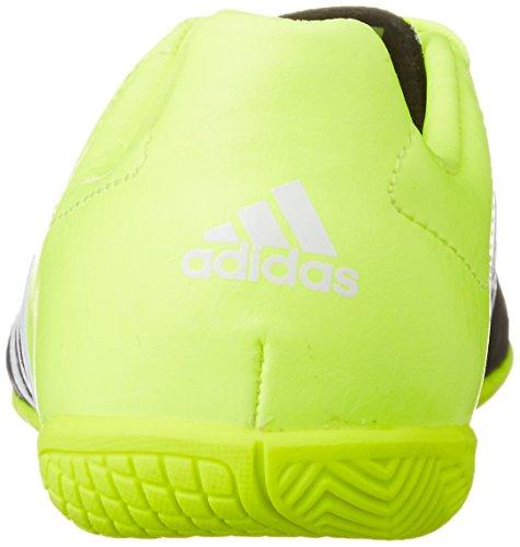 adidas ACE 15.4 IN J - Botas para niño Negro / Lima / Blanco