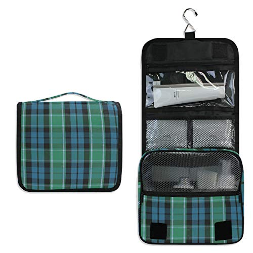 Graham Of Menteith Tartan Makeup Bag,3D Printing women cosmetic bag Multifuncition Pencil Holder