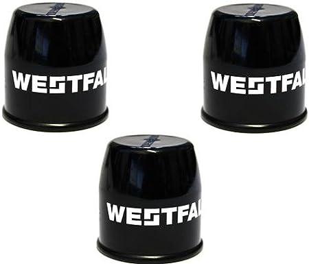 Bresetech Praktisches Set 3 X Westfalia Abdeckkappe Kappe Anhängerkupplung Schutzkappe Für Kugelkopf Universal Auto