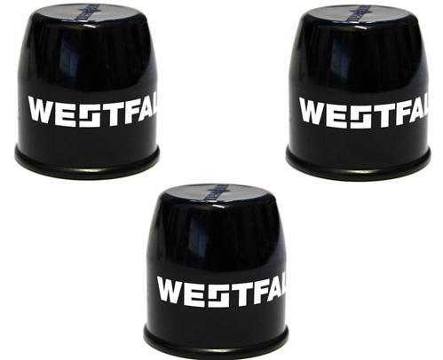 Bresetech Westfalia 3 x Cache Boule d'attelage universels