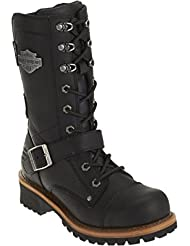 Harley-Davidson Womens Albara Black Leather High Cut Boot