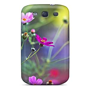 Premium OMs6579HDAH Case With Scratch-resistant/ Amazing Flowers Case Cover For Galaxy S3