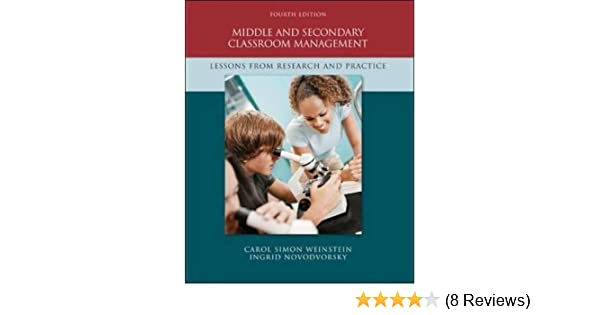 middle and secondary classroom management lessons from research and practice