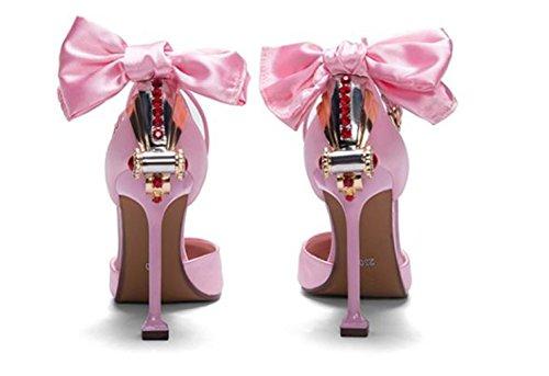De Negro Crystal Mujeres Ropa Color deporte de Flores MNII De Alto Party Las Pink TacóN Boda Glitter La Nupcial Sandalias De Mujeres Rosa MagníFico Perla Noche De gqBvaX4