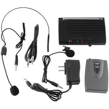 Wireless Mic System For Classroom : mvpower wireless lapel headset microphone mic system for public speaking singing ~ Vivirlamusica.com Haus und Dekorationen