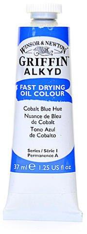 Winsor & Newton Griffin Alkyd Oil Colours (Cobalt Blue Hue) 2 pcs sku# 1837241MA ()