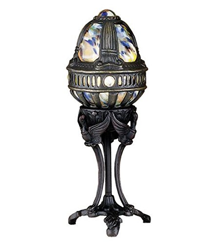 Meyda Tiffany 22088 Castle Swan Accent Lamp, 13
