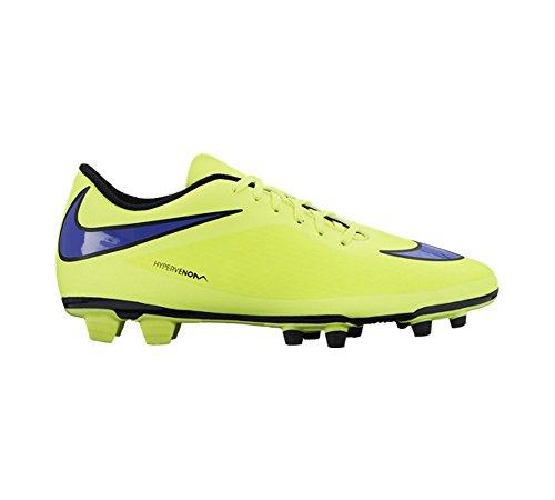 Nike Hypervenom Phade FG - Zapatillas de fútbol para hombre volt-persian violet-hot lava-black