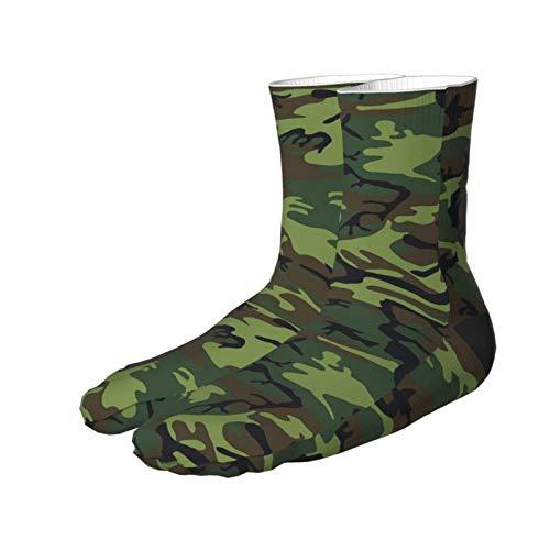 Dary Green Tactique Camouflage Militaire Armée Thème Chaussettes Imprimer Femmes Hommes Confortable Running Athlétique… 3